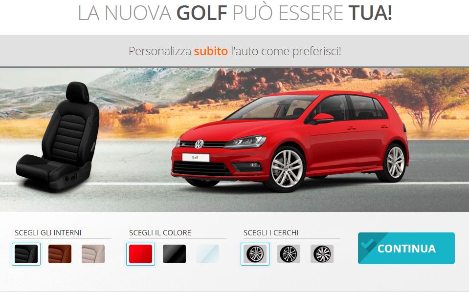 Concorso Adsalsa – Contest Vinci una Volkswagen Golf