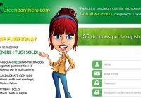 Greenpanthera – Arriva un nuovo sito di sondaggi online retribuiti